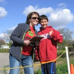 Beth and son at WRE 2011