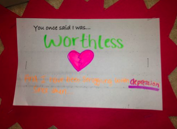 Student Prompt for Words Hurt Wall