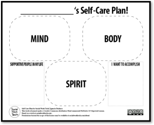 self-care-plan-template