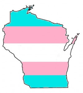 Wisconsin Trans Flag